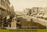 Main St. looking south from Second, Minot, N.Dak.