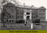 West Hall, State Teachers College, Mayville, N.D.