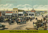 Market Day, Williston, N.D.
