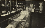 Interior of store, Hatton, N.D.