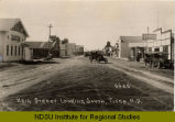 Main Street looking south, Tioga, N.D.