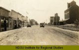 Main St. from north, Thompson, N.D.