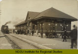 Great Northern Depot, Wahpeton, N.D.