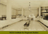 Interior of Citizens Nat. Bank Bldg. Wahpeton, N.D.