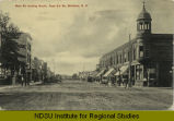 Main St. looking south, from 2d St. Williston, N.D.
