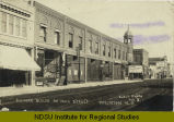 Business blocks on Main Street, Williston, N.D.