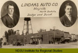 Lindaas Auto Co., Mayville, North Dakota, Dodge and Buick