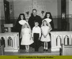 First Communion at St. Hubert's Catholic Church, Montpelier, N.D.