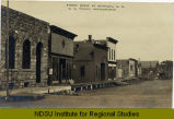 Street scene at Reynolds, N.D.