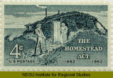 Homestead Act, 1862-1962 : 4 cents, U.S. postage