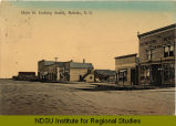 Main St. looking south, Rolette, N.D.