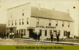 Hotel Keeney. Rock Lake, N.D.
