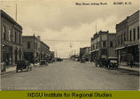 Main Street, looking north. Rugby, N.D.