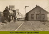 Niagara, N.D. railroad station