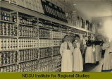 Edwin H. Peterson & Co. grocery store, Souris, N.D.
