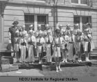 Fargo No. 5 children's group, Ancient Order of United Workmen, 1931 convention, Fargo, N.D.