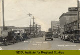 First Ave. S. looking east, Minot, N.D.