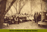 Norwegian M. E. Sunday School meeting at camp ground, Traill Co., Dak., Aug., 1884