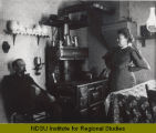 Charles and Antonia Soeby in kitchen