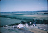 Edsal C. Johnson farm aerial, Milnor, N.D.