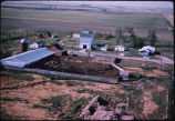 Polries Brothers farm feedlot aerial, Sykeston, N.D.l