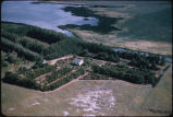 Dave Riley farm aerial, Dunn Center, N.D.