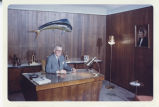 Earl Reineke in his WDAY office