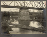 Portion of Northern Pacific bridge and old South bridge