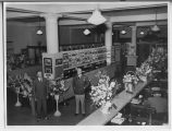 Interior of Merchants National Bank and Trust on 50th anniversary, Fargo, N.D.