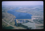 Bald Hill Dam and reservoir on the Sheyenne River, Barnes County, N.D.