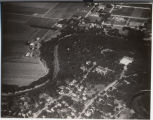 Aerial of Oak Grove Seminary, looking northeast, Fargo, N.D.