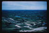 International Peace Garden aerial, Dunseith, N.D.
