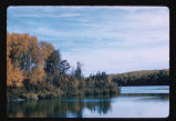 Lake at International Peace Garden, Dunseith, N.D.