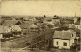 Hankinson N.D. view from school house