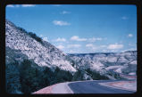 Road in Theodore Roosevelt National Park, N.D.