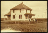 Farm home of Olof and Mary (Hanson) Pierson, Harlow, N.D.