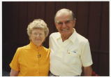 Former North Dakota Governor Art Link and wife Grace