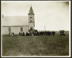 Dedication of the Presbyterian Church in McLeod