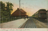 Northern Pacific Train and Depot, Fargo, N.D.