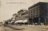 100 block of Broadway, Fargo, N.D.