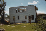 Home of Prof. Dwain T. Ervin after tornado, 1249 12th Street N., Fargo, N.D.