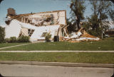 Home at 1249 12th Street N., Fargo, N.D. after 1957 tornado