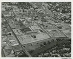 Aerial over 4th Street Urban Renewal