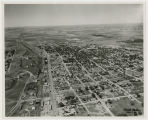 Aerial view of Dickinson