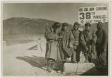 Soldiers at the 38th Parallel, Korea