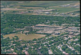 Aerial over Northport neighborhood, Fargo, N.D.
