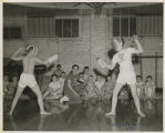Fencing at the YMCA, Fargo, N.D.