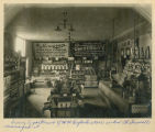 Interior of W.W. Reyleck Company grocery department, Grafton, N.D.