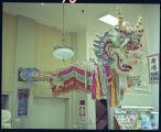 Dragon Decoration hanging in Herbst Department Store, Fargo, N.D.