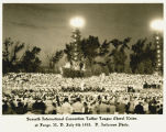 Seventh International Convention Luther League Choir Union at Fargo, N.D. July 4th 1933
